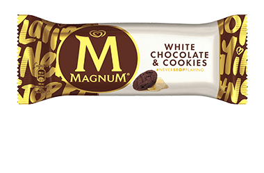 Produktbild Magnum White Chocolate & Cookies