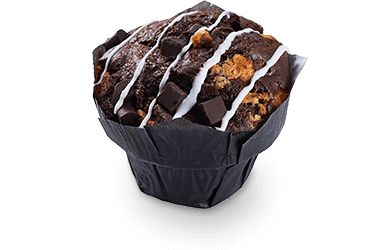 Produktbild Muffin Chocolate Overkill Black